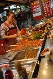 Koreaanse marktvrouwen Royalty-vrije Stock Afbeelding