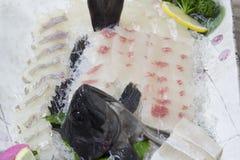 Koreaanse ruwe vissen stock foto