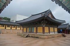 Koreaanse Tempel Stock Afbeeldingen