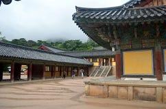 Koreaanse Tempel Royalty-vrije Stock Foto's