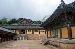 Koreaanse Tempel Stock Fotografie