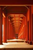 Koreaanse traditionele architectuur Stock Foto's