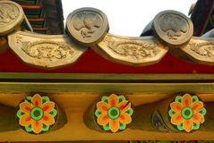 Koreaanse traditionele architectuur Royalty-vrije Stock Fotografie