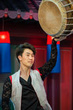 Koreaanse traditionele dans Royalty-vrije Stock Foto