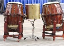 Koreaanse Trommels royalty-vrije stock foto's