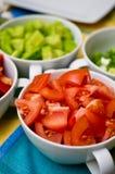 Koreaanse voedselkommen met groenten Royalty-vrije Stock Afbeeldingen