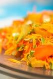 Koreaanse wortelsalade Royalty-vrije Stock Foto