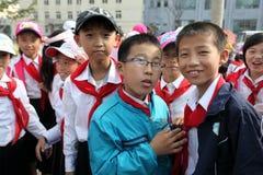 Koreańczyk Z Korei Północnej 2013 Fotografia Royalty Free