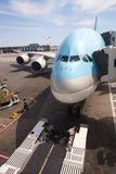 Korean Air A380 Imagem de Stock