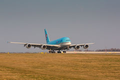 A380 Korean Air Stockfoto