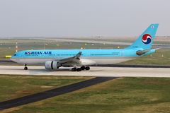 Korean Air Image libre de droits