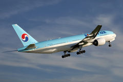 Korean Air Photographie stock libre de droits