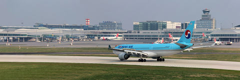 Korean Air Airbus A330-223 Stock Image