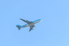 Korean Air Boeing 747 Royalty Free Stock Image