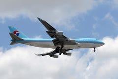 Korean Air Cargo jet Stock Photo