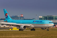 Korean Air stock image