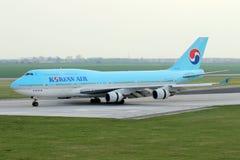 Korean Air Royalty Free Stock Photo