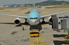 Korean Airlines Royalty Free Stock Photo
