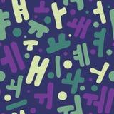 Korean alphabet pattern Royalty Free Stock Photography