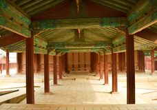 Korean ancient building Royalty Free Stock Photo