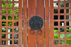 Korean ancient gate Stock Images