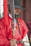 Korean ancient warrior Royalty Free Stock Photography