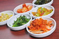 Korean appetizers Royalty Free Stock Photo
