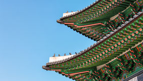 Korean Architecture Stock Photos