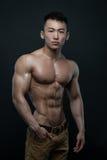 Korean athlete Royalty Free Stock Photos