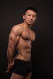 Korean athlete Royalty Free Stock Photography