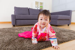Korean baby with traditional costume Royalty Free Stock Image