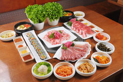 Korean barbecue Royalty Free Stock Images
