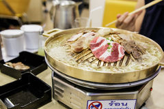 Korean barbecue Royalty Free Stock Photography