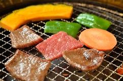 Korean barbecue Yakiniku Royalty Free Stock Images