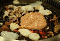 Korean Barbecue Yakiniku Royalty Free Stock Photo