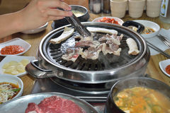 Free Korean BBQ Assorted Beef Royalty Free Stock Photos - 96615718