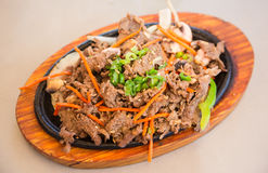 Korean BBQ beef Royalty Free Stock Image