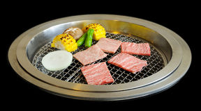 Korean BBQ grill Royalty Free Stock Photography