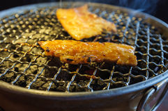 Korean BBQ Pork Royalty Free Stock Image