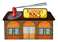 A korean bbq shop Stock Photos