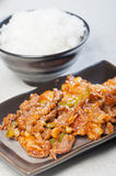 Korean beef barbeque Stock Photos