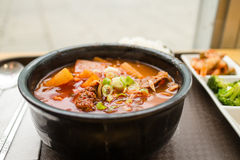 Korean beef stew Stock Image