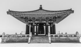 Korean Friendship Bell stock photo