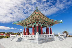 Korean Bell of Friendship pagoda in San Pedro Stock Photo