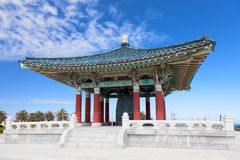 Korean Bell of Friendship pagoda Royalty Free Stock Image