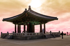 Korean Bell Of Friendship Stock Photo