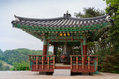 Korean bell pavilion Stock Photography