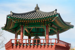 Korean bell pavilion Royalty Free Stock Photography