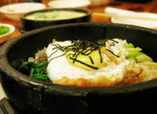 Free Korean Bibim Bap Royalty Free Stock Photos - 476538