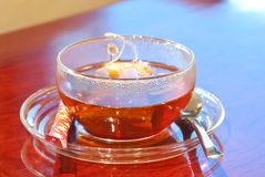 Korean black tea 1 Royalty Free Stock Photo